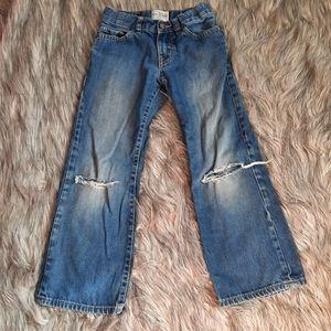 1989 Place Bootcut Denim Distressed Jeans Kids' 6